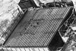 Трубный накат над центральным залом